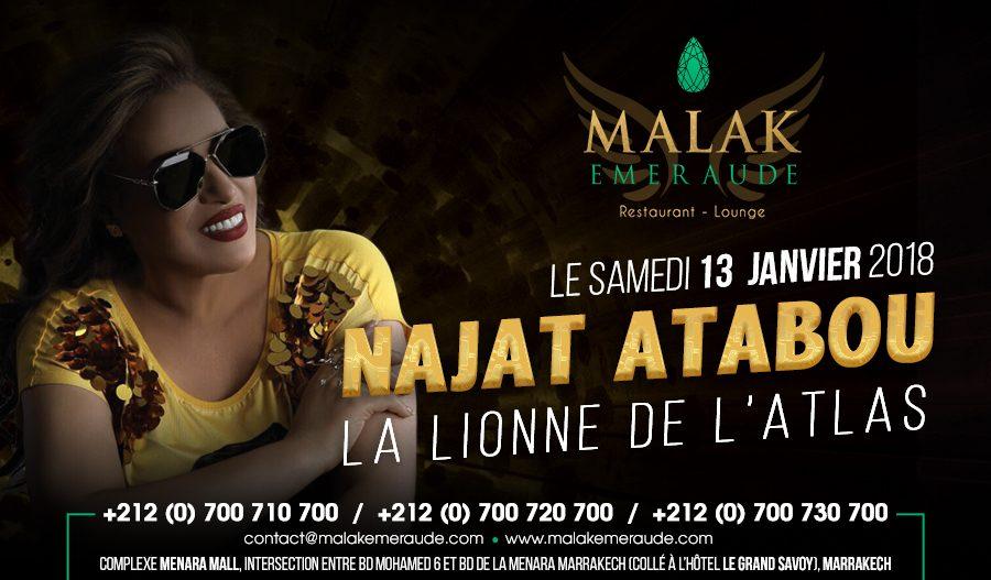 Najat Atabou au Malak Emeraude